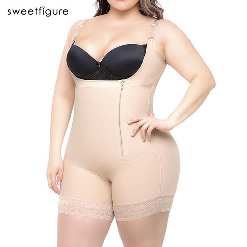 a055010566995 2019 Plus Size Women S Hot Body Shaper Slimming Underwear Girdle Bodysuit  Waist Shaper Reductoras Shapewear For Women Control Pants From Beke