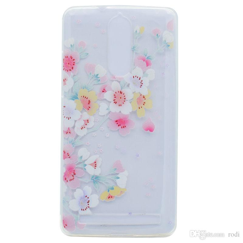 for lenovo K5NOTE P1 phone case Back Cover Soft TPU painting Transparent Shell shockproof Dust Proof The manufacturer can customize it