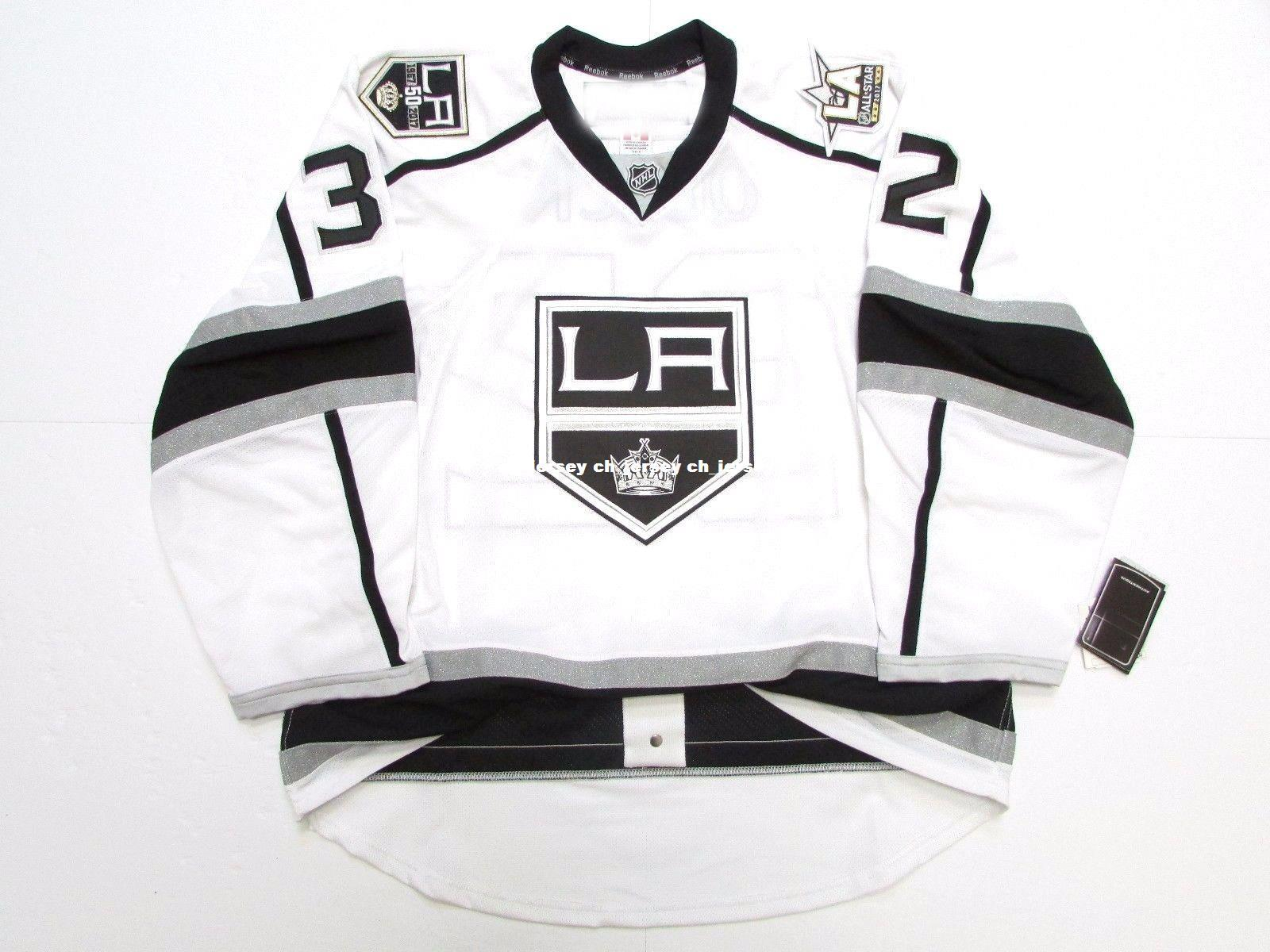 sale retailer e194c 9e00f low cost los angeles kings 50th jersey aabc7 11482