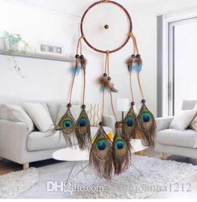 Factory Wholesale Handmade Large Macrame Dreamcatcher Hanging Home