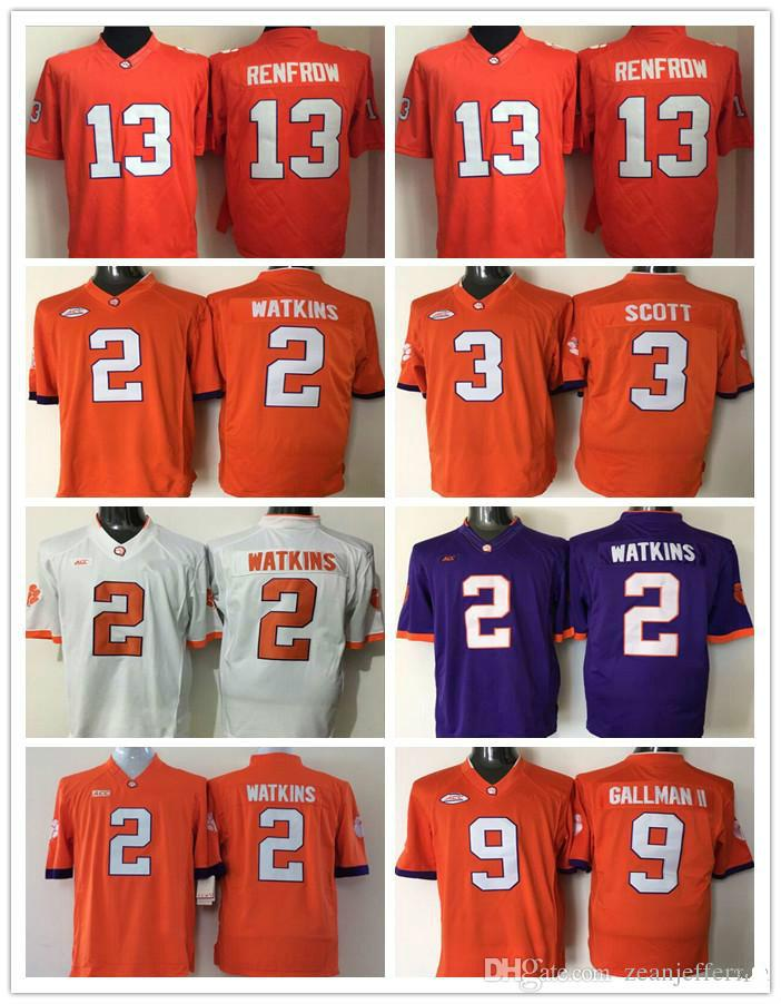 78e9f0e11a6 2018 New Arrival 2 Sammy Watkins 3 Artavis Scott 13 Hunter Renfrow 9 ...