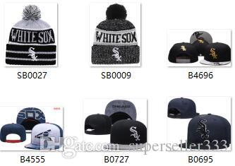 ad9908627b4d2 2019 Hot Sale White Sox Beanie Snapback White Sox Hat Strapback ...