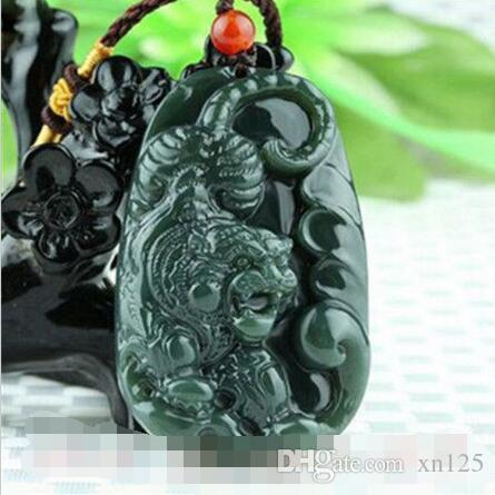 2018 certified natural hetian jade tiger necklace pendant fashion 2018 certified natural hetian jade tiger necklace pendant fashion charm jewelry z68 from xn125 4019 dhgate mozeypictures Gallery