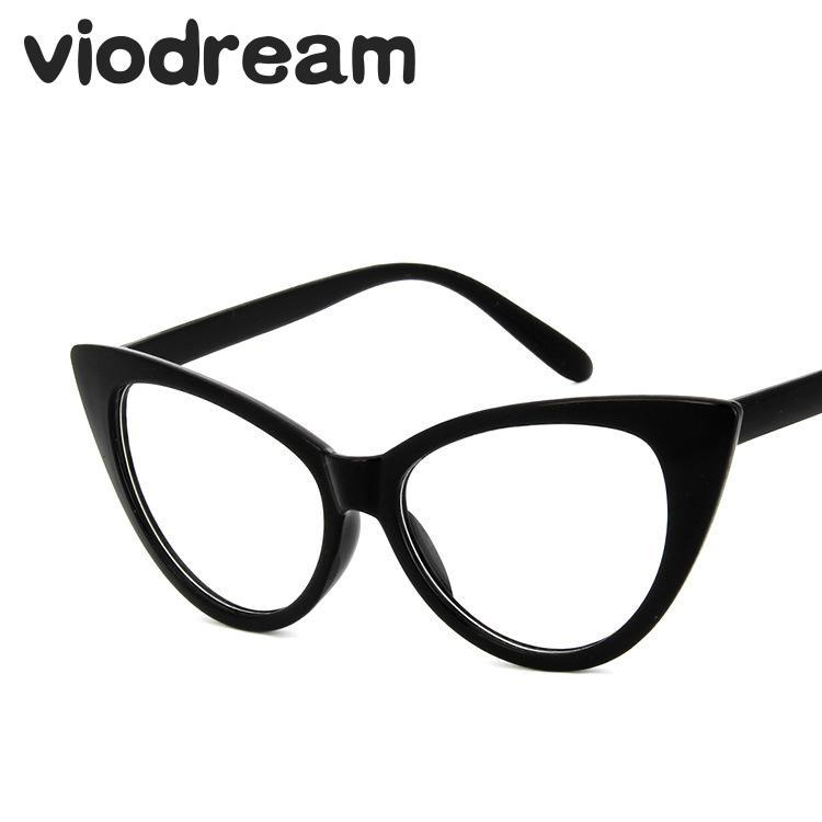 99ad83dc25 Viodream New Retro Cat Eye Glasses Frame Fashion Myopia Prescription ...