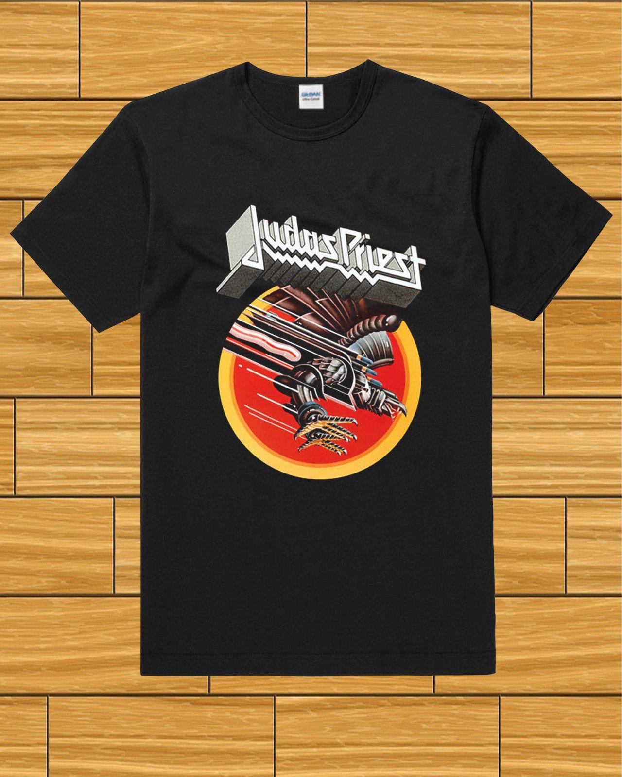 Großhandel Judas Priest Screaming For Vengeance Black T Shirt Billig