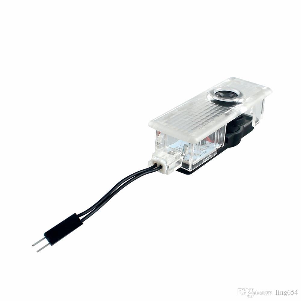 BMW E65, E66, E67, E68, F01, F02를위한 차문례 빛 LED 레이저 유령 그림자 영사기 램프
