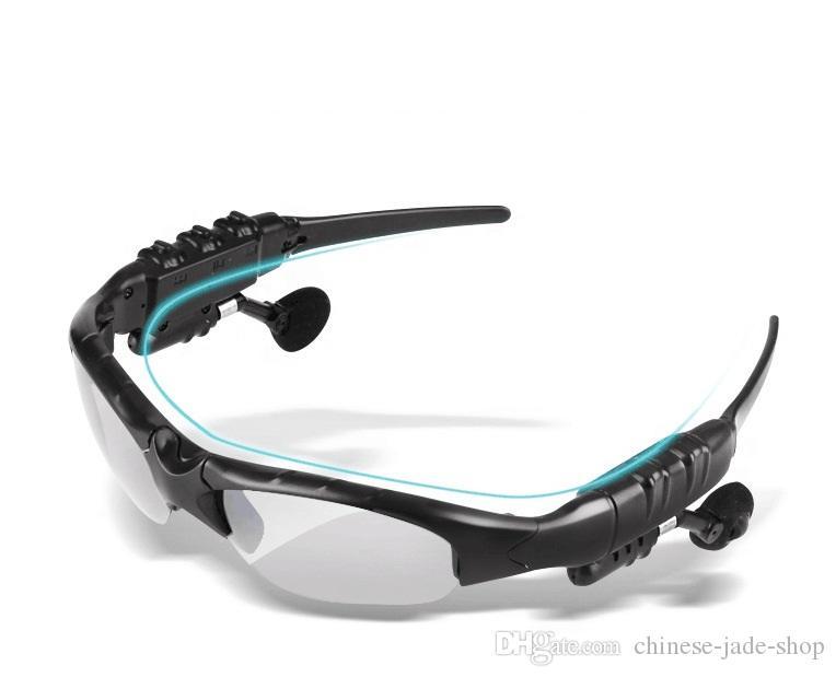 유선 된 무선 블루투스 야외 선글라스 태양 안경 스테레오 핸즈프리 헤드셋 이어폰 스마트 폰에 대 한 / 소매에 대 한