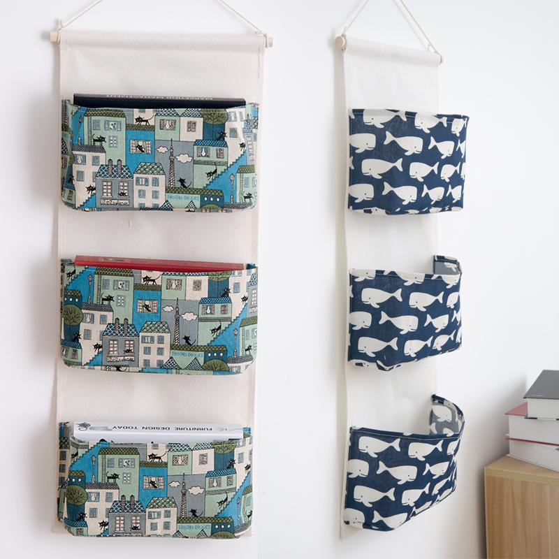 Grosshandel Japan Stil Leinen Baumwolle Stoff Wand Tur Grosse Hangen