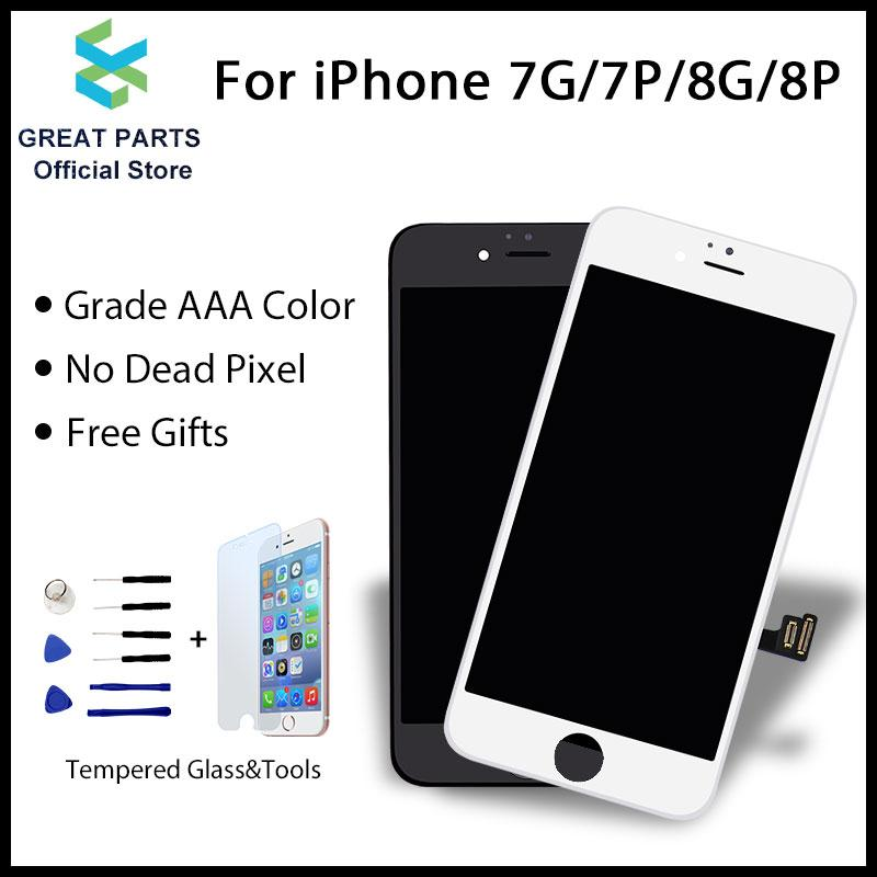 8758194b2d3 2019 GREAT PARTS LCD For 7 7 Plus 8 8 Plus LCD Display Touch Screen  Assembly Replacement Good 3D Touch Free Ship From Teresar, $33.97 |  DHgate.Com