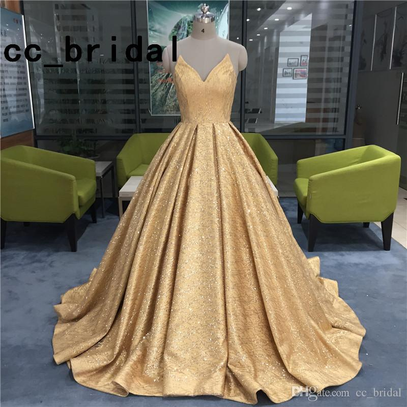 Real Ball Gown Prom Dresses 2018 Elegant Sweetheart Neckline Sweep Train Long Evening Dress Real Pictures Bling Bling Girl Quinceanera Dress