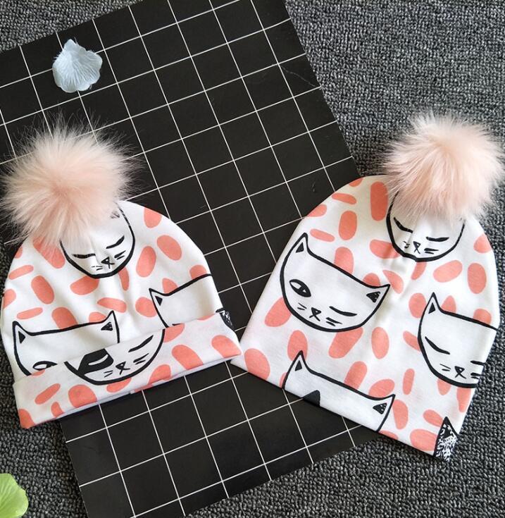 49f2ea96dad49 0 3 YEARS Baby Pompom Hat Children Hats Toddler Kids Baby Warm Winter Ins  Fur Autumn Winter Baby Boy Girls Hat 31 Design KKA6195 Personalized First  Birthday ...