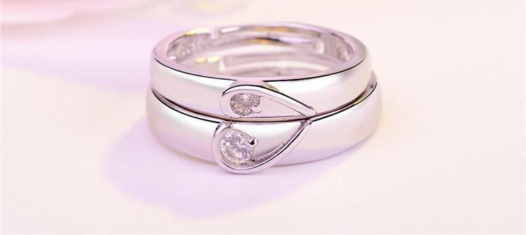 Europe and America Fashion Luxury Lover's Ring Couples Rings for Lovers /pair men and women engagement wedding ring best gift for friend