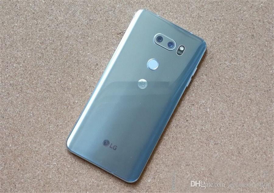 تم تجديده الأصل LG V30 + V30 زائد H930DS 6.0 بوصة المزدوج سيم الثماني الأساسية 4GB RAM 128GB ROM 16MP13MP 4G LTE مقفلة الهاتف الخليوي DHL محفظة