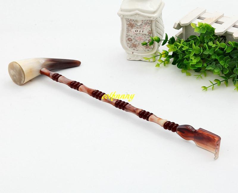20 teile / los Multi funktion Natürliche OX horn Zurück Kratzen Scratcher gesundheit massage hammer massagegerät bärenklaue jucken Backscrather