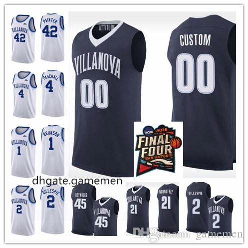 Villanova Wildcats 5 Phil Booth 25 Mikal Bridges 22 Peyton Heck Any ... bf4043019