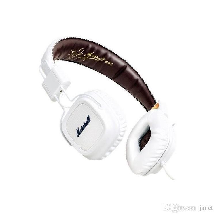 2018 Marshall Major headphones With Mic Deep Bass DJ Hi-Fi Headphone HiFi Headset Professional DJ Monitor Headphone