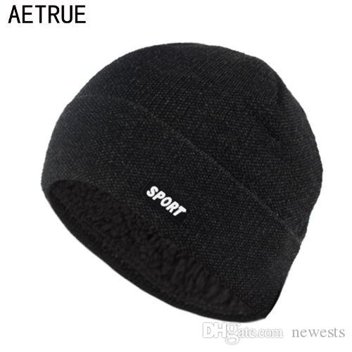 5eb13f889d0ac Winter Hat Beanies Skullies Knitted Hat Winter Hats For Men Women ...