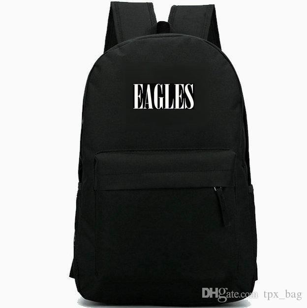 a2c07a5dd6f Eagles Backpack Don Henley Daypack Take It Easy Rock Band Schoolbag Music  Rucksack Sport School Bag Outdoor Day Pack Book Bags Herschel Backpacks  From ...
