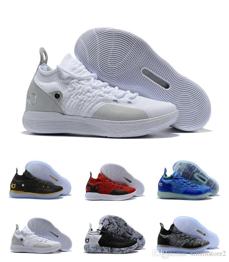 huge discount 2b32b 9c7ed Acquista Nike Scarpe Firmate 2018 Zoom KD 11 Scarpe Da Basket Uomo KD XI Kevin  Durant Scarpe Sportive Da Combattimento Fmvp Taglia US 7 12 A 156.72 Dal  ...