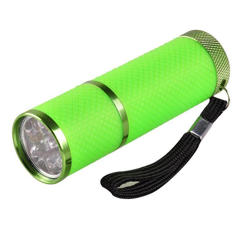 Mini secador de uñas LED linterna portátil para gel de uñas Secador rápido Cure Nail Gel Cure Manicure Tool