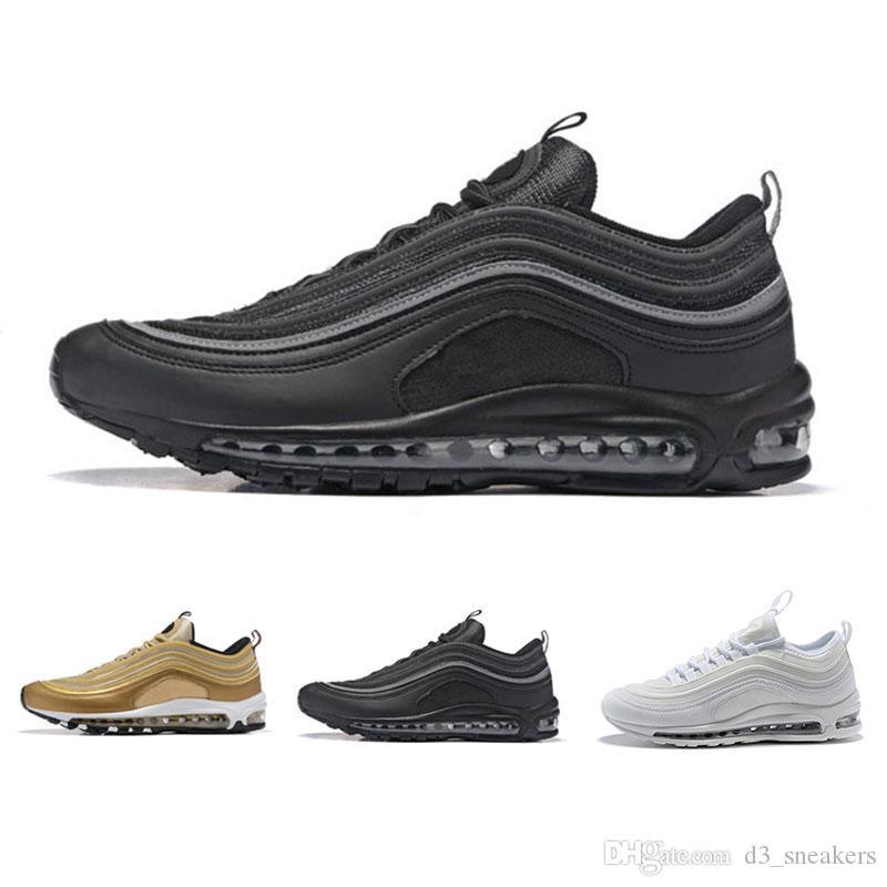 size 40 0d4dd aca92 Acquista N09 5 2018 Nike Air Max 97 Basketball shoes Vendita Calda Nuovi Uomini  Scarpe S Cuscino Kpu Scarpe Da Ginnastica In Plastica Moda All ingrosso ...