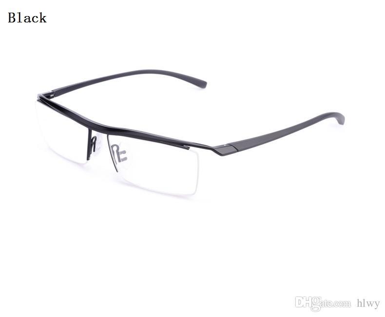 96c141b4994c New Ultra Light Pure Titanium Eyeglasses Frame Large Code Men's Commercial  Brand Myopic Glasses Sport Glasses P8189