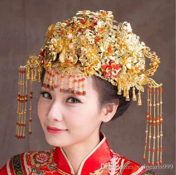 Kopfschmuck Kostüm Braut Haarschmuck Hairpin Hairpin jeden Schritt schütteln