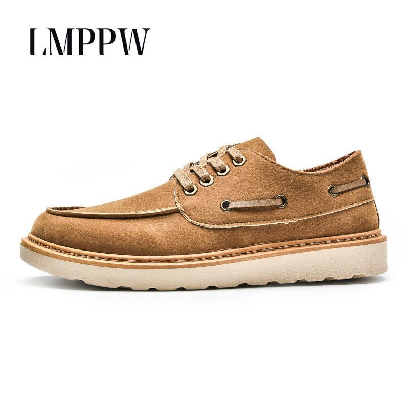 39747f0239 Compre 2019 Nuevo 2019 Zapatos De Hombre Primavera Otoño Hombre Zapatos De  Cuero Zapatos Casuales Moda Hombres Populares Zapatillas Deportivas Zapatos  ...