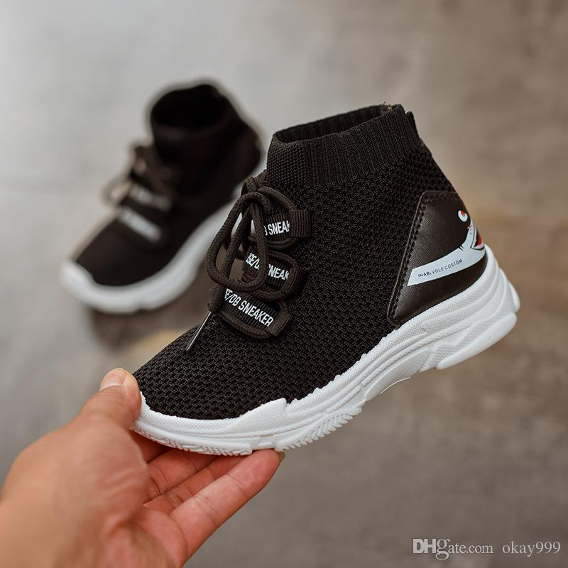 1095b8f62 Girls Sports Shoes 2019 Tenis Infantil Menina Autumn New Boys Mesh  Breathable Running Shoes Kids Sneakers Zapatillas Con Luces Cool Running  Shoes For Kids ...