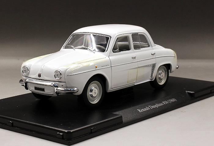 2019 White Box 1 24 Renault Dauphine 850 1960 Boutique Alloy Car