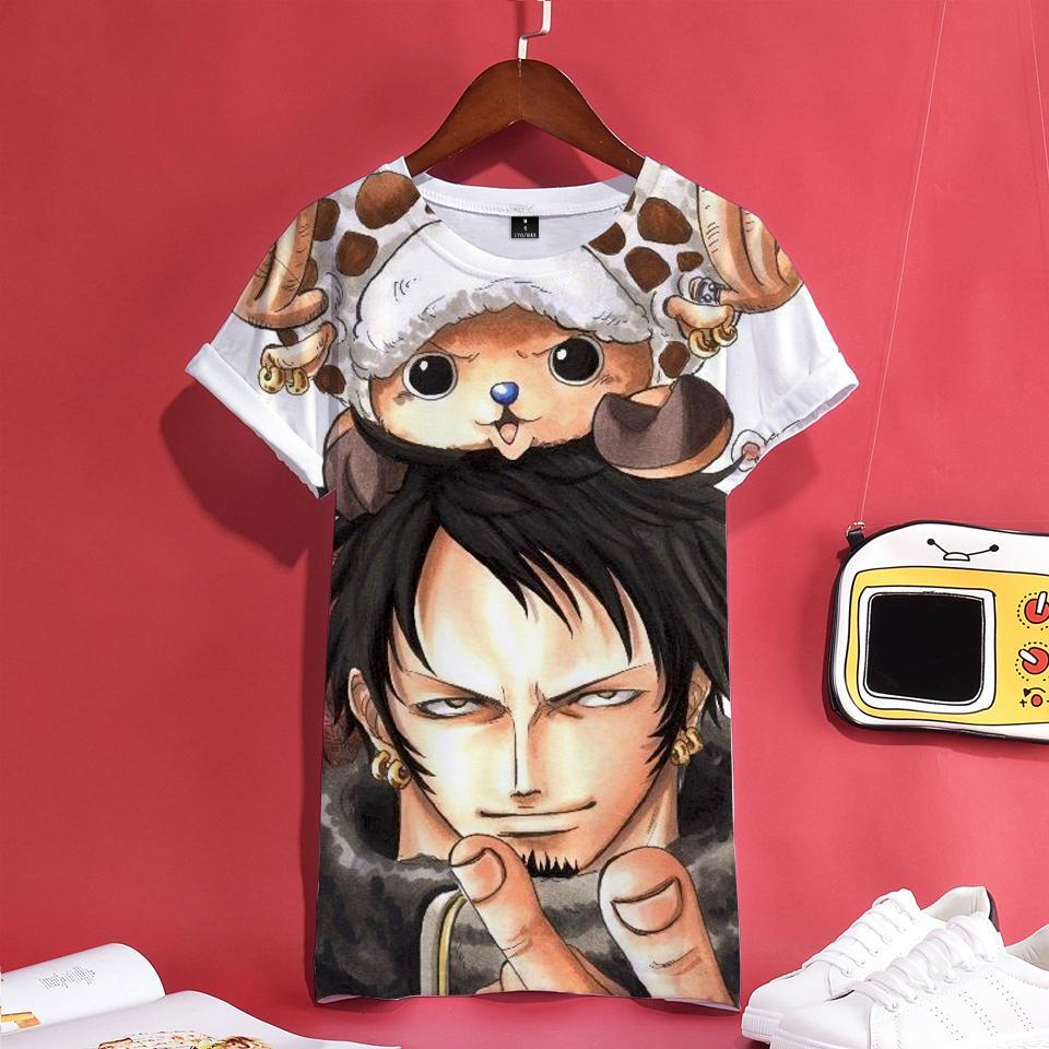 f04779c7e5 NEW 3D Print T-shirt Cotton Women Short Sleeve Tshirt Hip Hop Anime Casual  Tee Shirt Men/Women Tops Pus Size