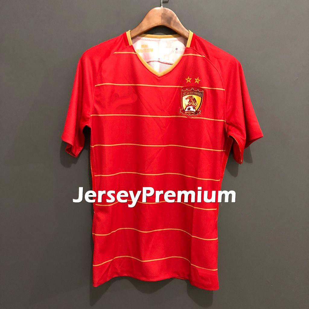 934381fe1 Acheter Guangzhou Evergrande Taobao Accueil Football Maillots Maillots  Rouge Chemises Ricardo Goulart Alan Nemanja Gudelj De  13.93 Du  Jerseypremium ...