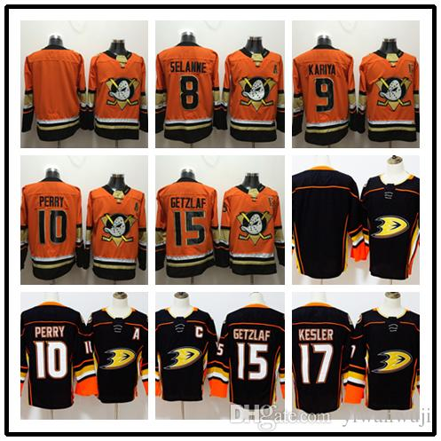 2018-2019 Stitched Adlads Anaheim Ducks Blank  8 SELANNE  9 KARIYA ... 623b1f914