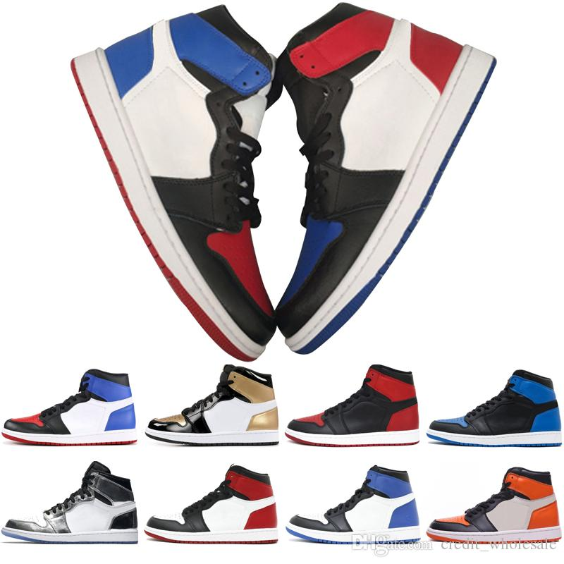 3c46dec60fad 2018 OG 1 Top 3 Mens Basketball Shoes Homage To Home Gold New Love Wheat  Bred Banned Royal Blue Barons Men Sports Sneakers Designer Trainers  Naturino Kids ...