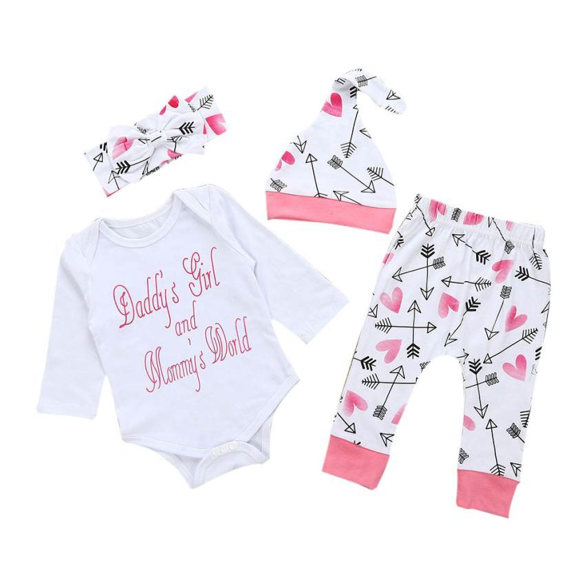 a388a4919e93 2019 Baby Girls Set Baby S Set Newborn Infant Baby Girl Clothes ...