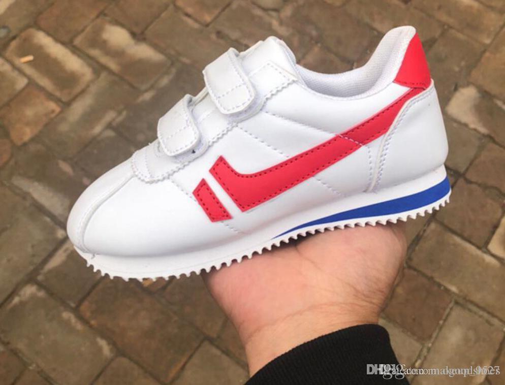 f74d9228cc Compre 2019 XMAS Presente Criança Esporte Sapatos   Meninos E Meninas Tênis  Calçados Esportivos Casuais Crianças Sapatos De Corrida Para Crianças  Sapatos ...