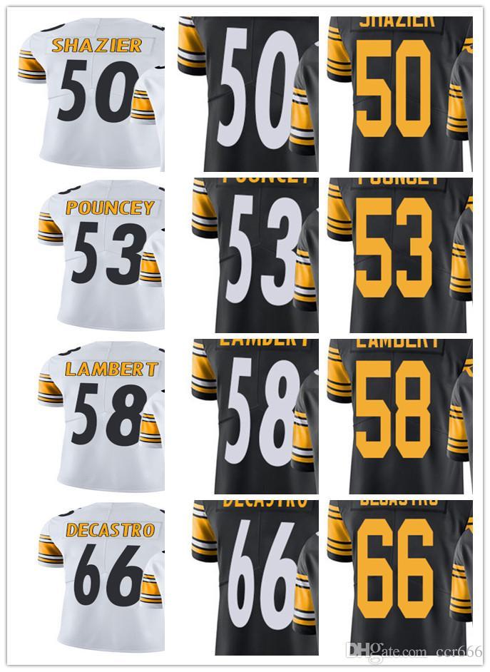 44294c0c5 Custom Pittsburgh Steeler Jersey Men Women Youth  50 Ryan Shazier 53 ...