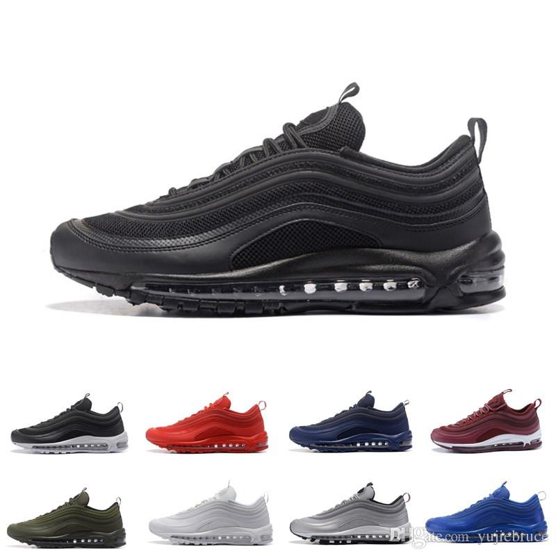 97 OG Mens Low Running Shoes Cushion Men Women Size OG Silver Gold Anniversary Edition Sneakers 97S Sport Athletic Sports Trainers for sale for sale outlet amazon find great online 4EHPUG