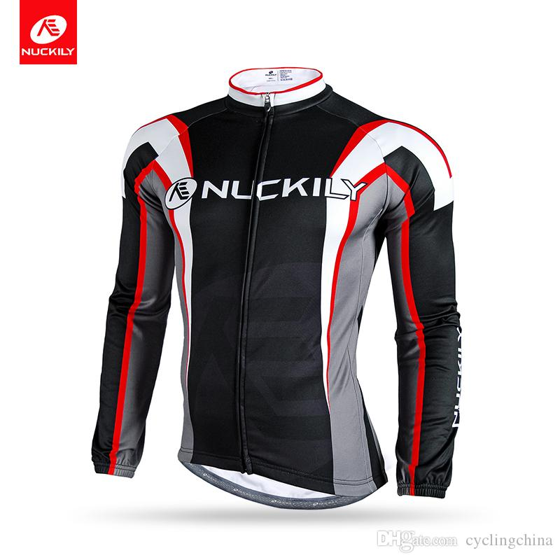 65f1e7d35 NUCKILY Men Custom Windproof Bicycle Clothing Thermal Race Bicycle ...