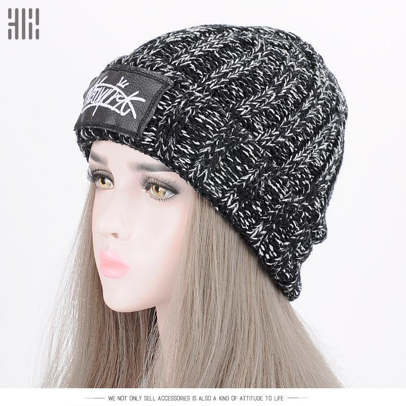 2019 2017 Promotion Sale Adult Winter Hats For Knitted Beanie Hat Cap Brand  Female And Male Couples Stocking Outdoor Sport Skiing From Teawulong fbe900b8d5a4