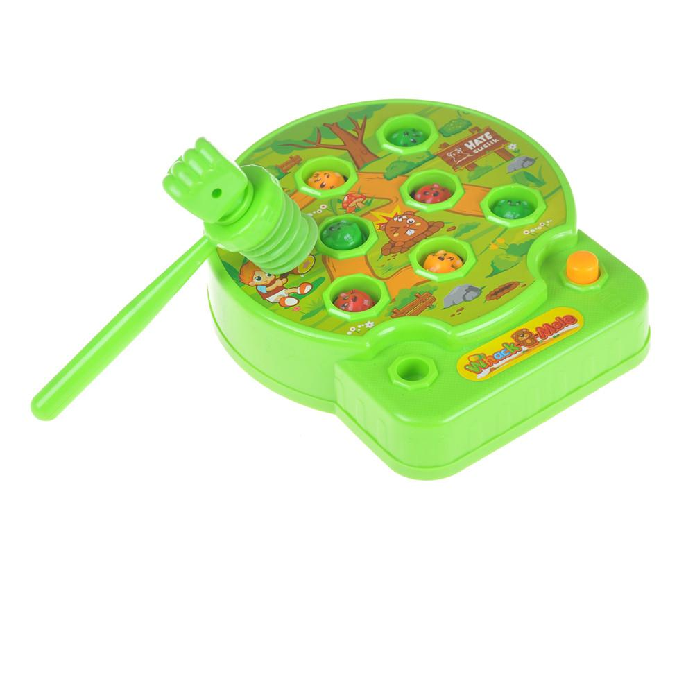 Funny Early Puzzle Education Baby Whac-A-Mole Mole Hamster Attack A Mole  Electronic Music Kids Family Game Toy