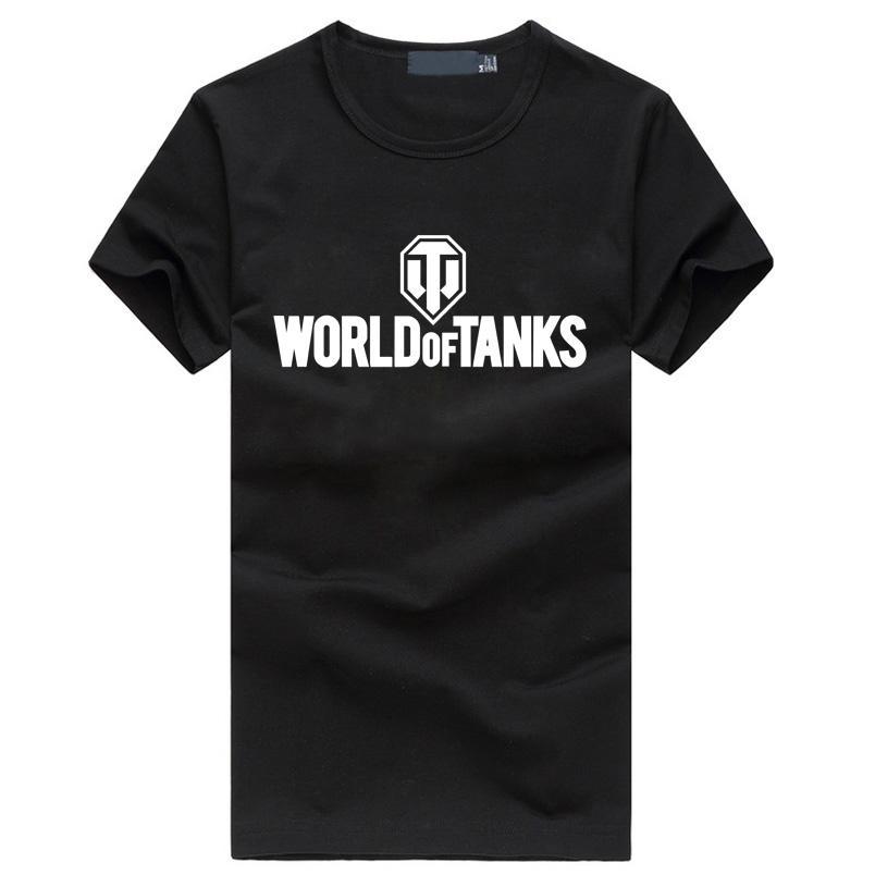 9ed3dbedc 2017 Summer Style Funny World Of Tanks T Shirt Men Manufacture World War Ii  Tank T SHIRT Homme Plus Size Hop Hop Fitness Top Tee T Shirt Printers Retro  ...