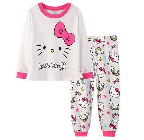 4c4a15ae17d3 Kids Girls Pajamas Sets Princess Pyjamas Kids Pijama Infantil ...