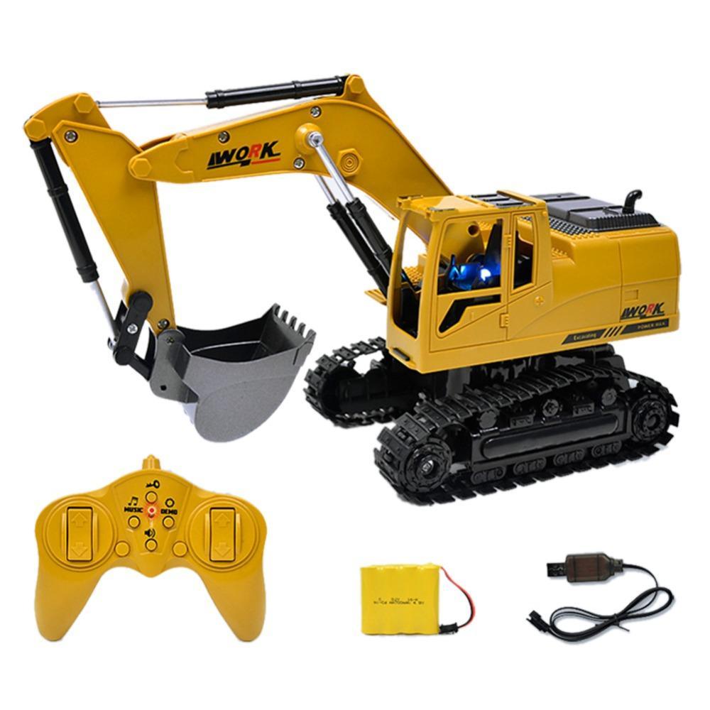 6a03d54a3c00fe Acheter RC Crawler Excavator 2.4G 1 24 Télécommande Construire Le Modèle Du  Camion Jouet De Charge Avec Baery RC Camion Jouet Pour Enfants De  61.6 Du  Lou88 ...