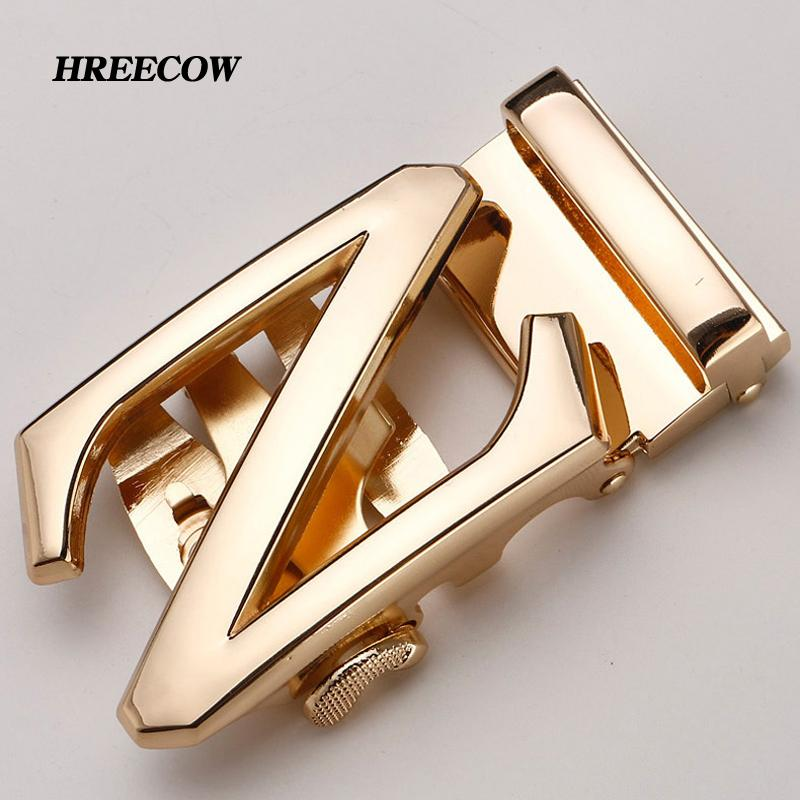 Apparel Accessories Many Style Luxury Brand Designer Men Belt Buckle Male Kemer Metal Automatic Buckle Heads High Quality Gold Horses Buckles Goods Of Every Description Are Available