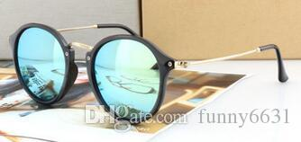 l'estate di modo della donna in metallo all'aperto Occhiali da sole vento di guida Occhiali da sole Lady Occhiali da sole occhiali da sole di protezione spiaggia libera la nave