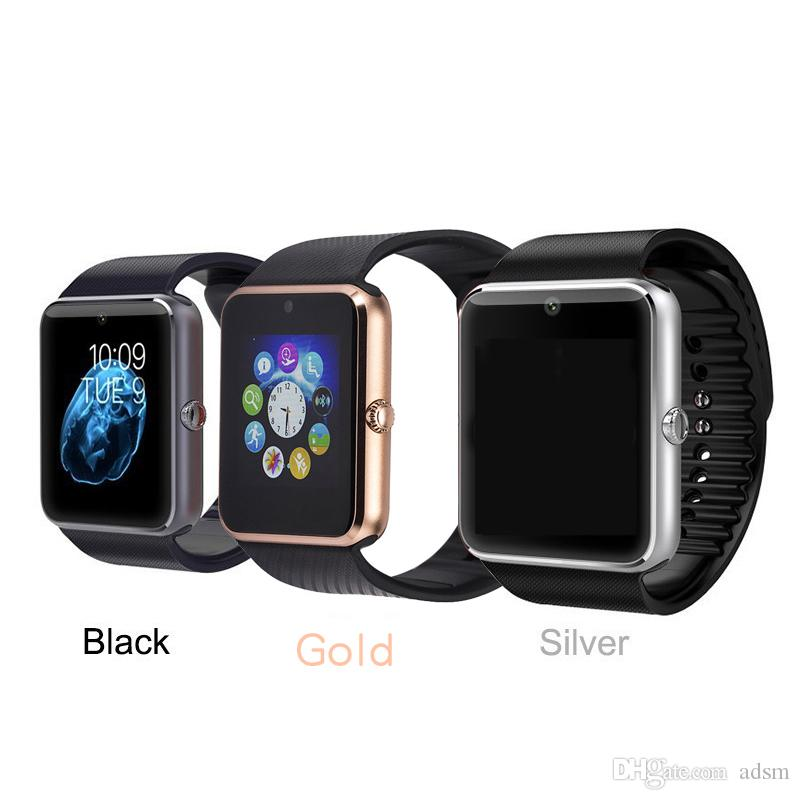 e205e3888 2018 Bluetooth Smart Watch for Ios Android Phones with SIM Card Slot Call  Massage Camera Pedometer Analysis GT08 Smart Watches Smartwatch Best Smart  Watch ...