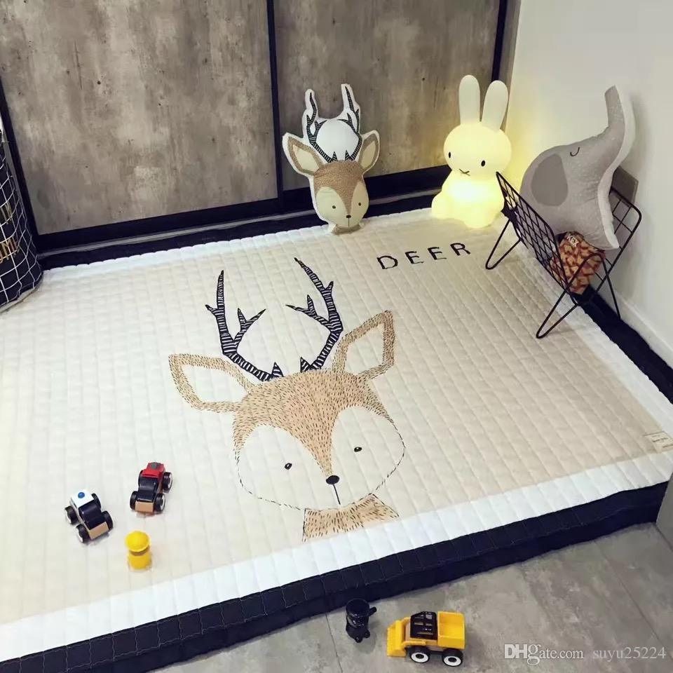 Big Modern Square Floor Rug Mat Carpet Non Slip Home Decor Living ...