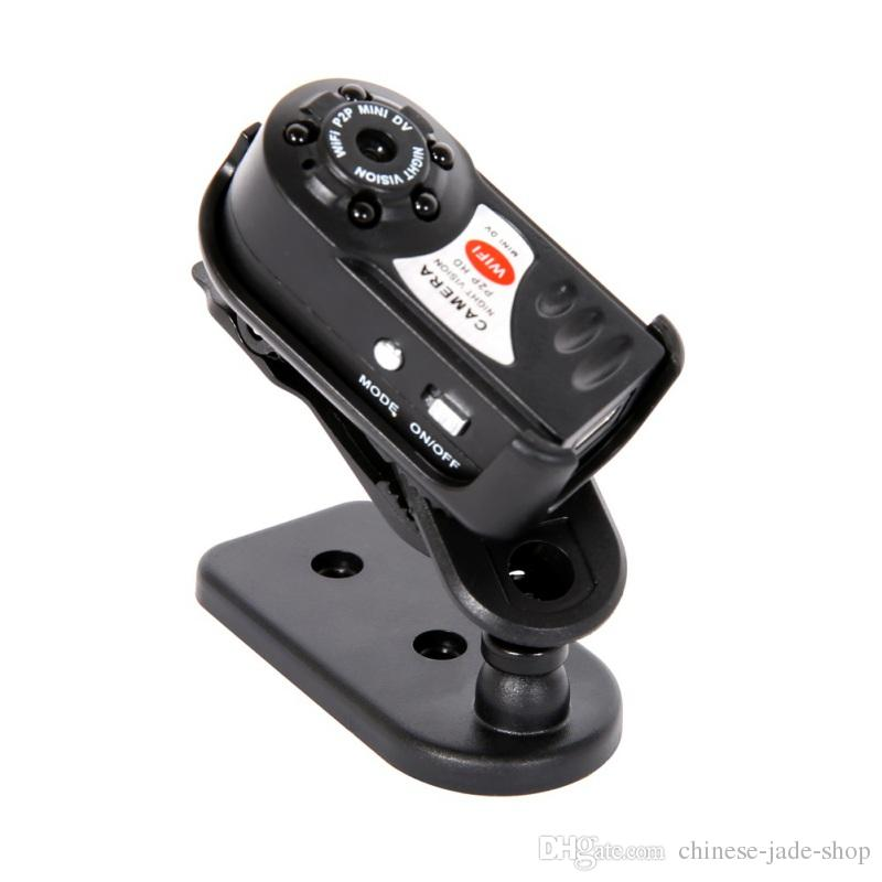 Q7 Mini Camera Wifi Infrared Night Vision Small Camera DV DVR Wireless IP Cam Video Camcorder Recorder Support TF Card