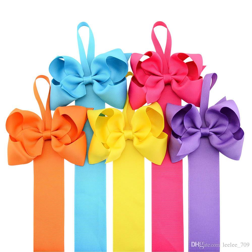 Hair Clip Organizer Grosgrain Ribbon Hair Bow Holder Storage Organizer Bows Holder For Hair Accessories 23 Inch